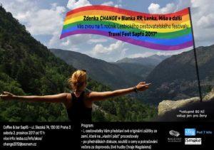 1.ročník Lesbického cestovatelského festivalu Travel Fest Sapfó 2017